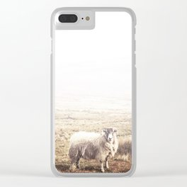 Sheep, Ireland. Clear iPhone Case