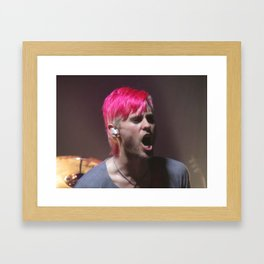 Jared Leto of 30 Seconds to Mars Framed Art Print