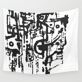 Attack №159 Wall Tapestry