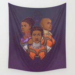 Wakanda Women Wall Tapestry