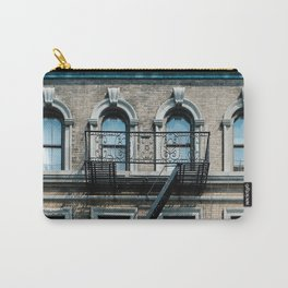 Facades of NY - 01  Carry-All Pouch
