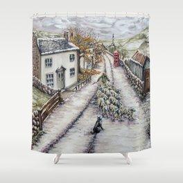 Hill Top Farm Shower Curtain