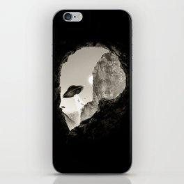 Alien´s Head iPhone Skin