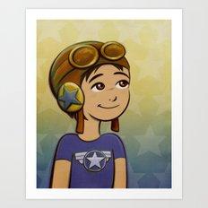 Fly Boy Art Print