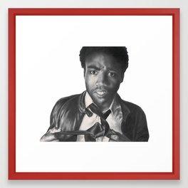 One Word: Destiny Framed Art Print