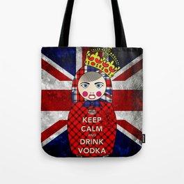 Keep Calm and Drink Vodka Matryoshka Tote Bag