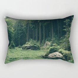 Forest Field - Landscape Photography Rectangular Pillow