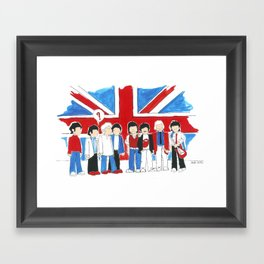 Les Petits Great Britain Framed Art Print