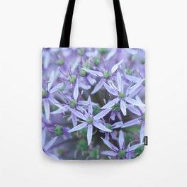 Allium Globemaster Blossoms Close-up #1 #decor #art #society6 Tote Bag