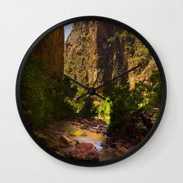 River Wall Clock
