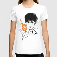 fullmetal T-shirts featuring Flames  by IndyFalcon