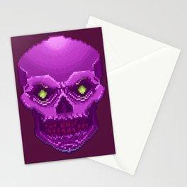 Pxl_Skull Stationery Cards