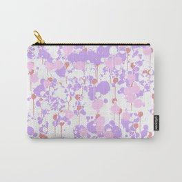 Lavender Splatter Carry-All Pouch