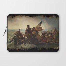 Washington Crossing the Delaware Laptop Sleeve