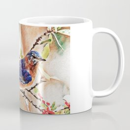 Eastern Bluebird Dream   Painting  Coffee Mug