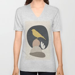 Cute Little Bird II Unisex V-Neck