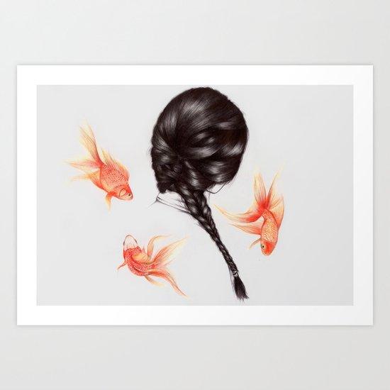 Hair Sequel  Art Print