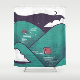Valley Shower Curtain