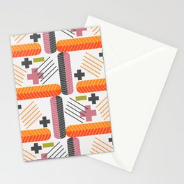 Pluses and minuses Stationery Cards