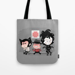 Don't run with scissors Tote Bag