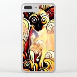 You Make Me Dizzy Clear iPhone Case