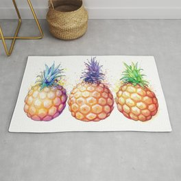 Three Pineapples Rug