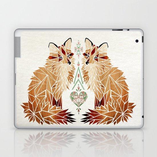 fox love Laptop & iPad Skin