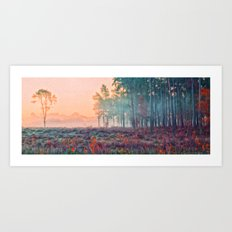 Wisley Common In Art Art Print