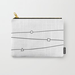 Lines and geometric shapes, simple Carry-All Pouch