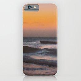 Seascape Sunset at Jericoacoara, Ceara, Brazil iPhone Case