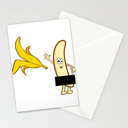 """A Naughty Tee For A Naughty You """"Censored Banana"""" T-shirt Design Sexual Dick Censor Fruit Bananas Stationery Cards"""
