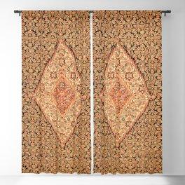 Senneh  Antique Kurdistan North West Persian Kilim Blackout Curtain