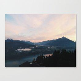 Top of Beatenburg, Switzerland Canvas Print