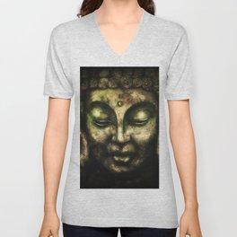 Buddha 3 Unisex V-Neck