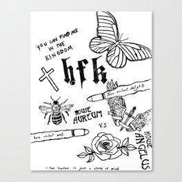 HFK Canvas Print