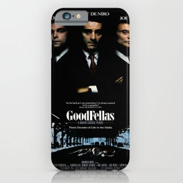 Goodfellas Movie Poster  iPhone Case