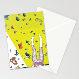 Indoor Climbing Stationery Cards