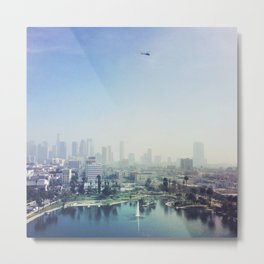 MacArthur Park, Los Angeles. Autumn, 2015 Metal Print