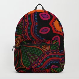 Fun with Coloring Mandala Style 6 Backpack