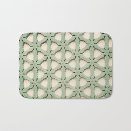 Jade Lattice Bath Mat