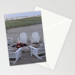 Fireside Chat Stationery Cards