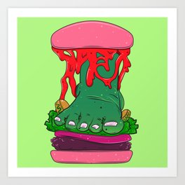 Churger Bing Loot Fettuce Art Print