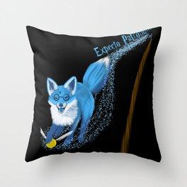 Expecto Patronum Fox Throw Pillow