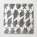 Inked Ferns – Black Palette by catcoq