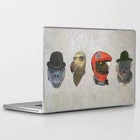 kubrick Laptop & iPad Skins featuring A Tribute To Stanley Kubrick by Brian Atkinson