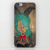 dragon ball iPhone & iPod Skins featuring First Lady Of Dragon Ball  by Artistic