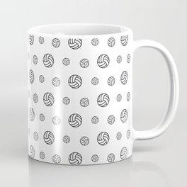 Volleyball sport pattern outline Coffee Mug