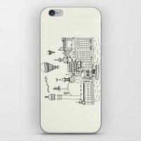 stockholm iPhone & iPod Skins featuring Stockholm by Adam Lindfors