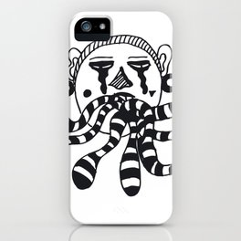 Dirty Mouth iPhone Case