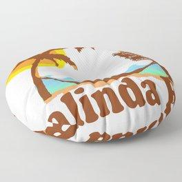 Playalinda Beach - Florida. Floor Pillow